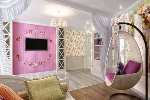 комната +для подростков мальчика и девочки