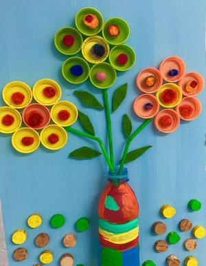 летние поделки из пластилина для детей