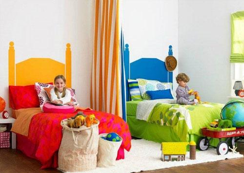 дизайн комнаты для девочки и мальчика вместе 3