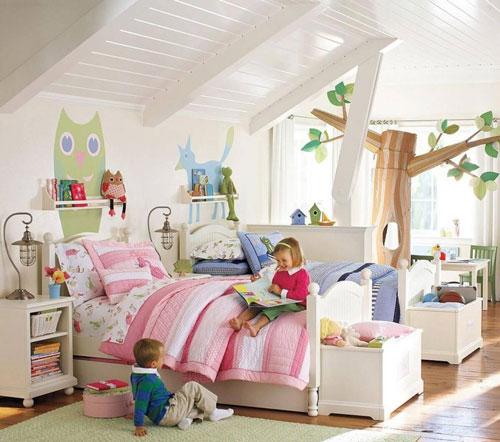 идеи комнат для девочки и мальчика