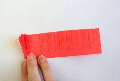 поделка из бумаги летняя