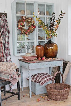 как оформить дом осенью легко своими руками 10