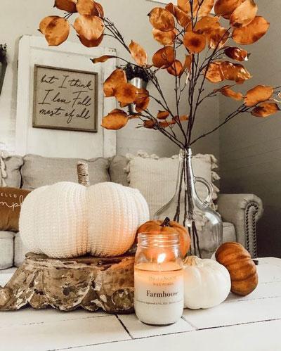 как оформить дом осенью легко своими руками 2