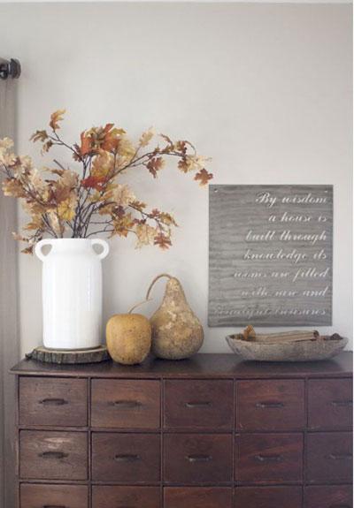 как оформить дом осенью легко своими руками 12