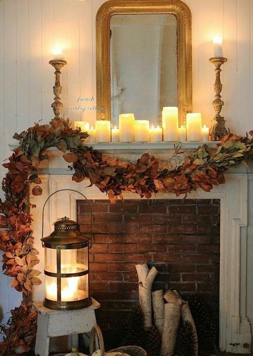 как оформить дом осенью легко своими руками 11