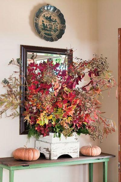 как оформить дом осенью легко своими руками 7