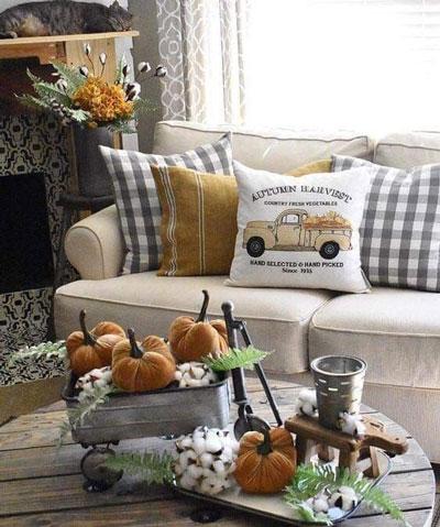 как оформить дом осенью легко своими руками 6