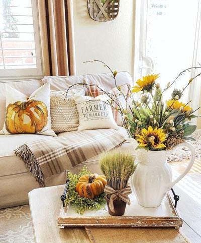как оформить дом осенью легко своими руками 5
