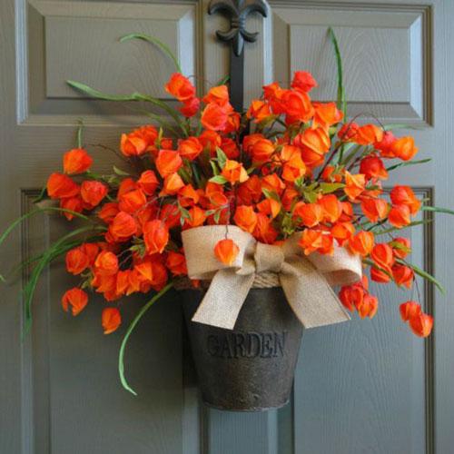 как оформить дом осенью легко своими руками 4