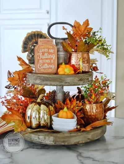 как оформить дом осенью легко своими руками 3