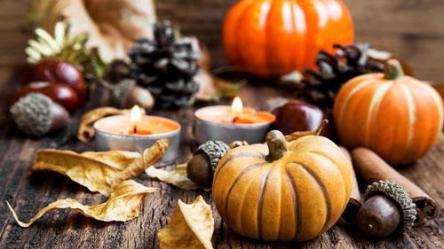 Как украсить дом осенью легко 2