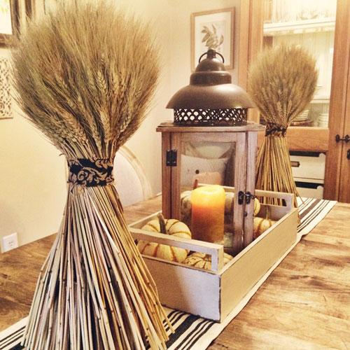 Как украсить дом осенью легко 11