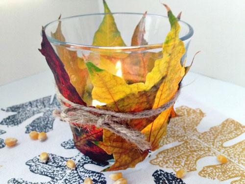 Как украсить дом осенью легко 3