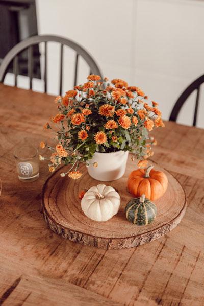 Как украсить дом осенью легко 6