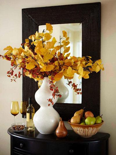 Как украсить дом осенью легко 9