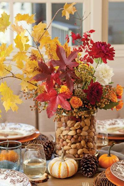 Как украсить дом осенью легко 10