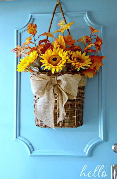Как украсить дом осенью своими руками 2