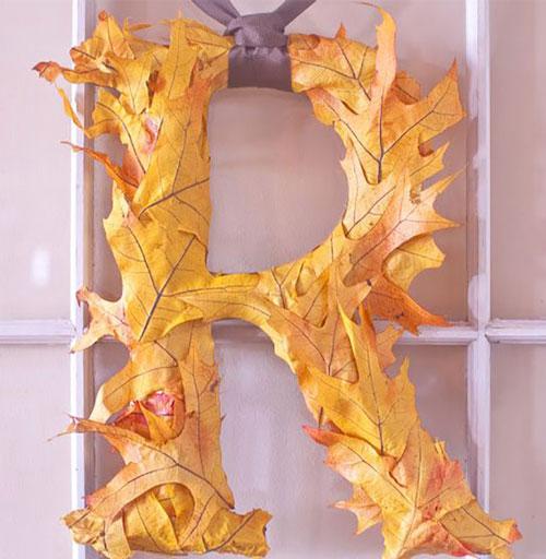 Как украсить дом осенью своими руками 7