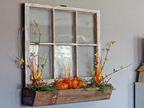 Как украсить дом осенью своими руками 8