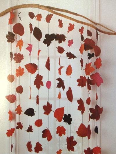 Как украсить дом осенью своими руками 9
