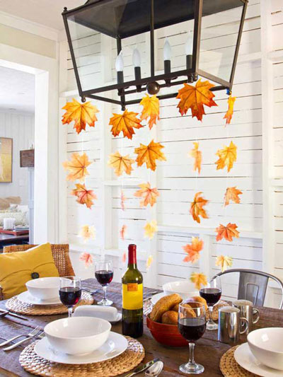 Как украсить дом осенью своими руками 10