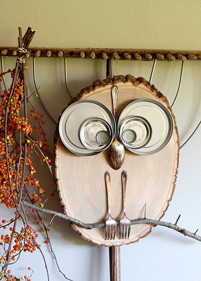 Как украсить дом осенью легко