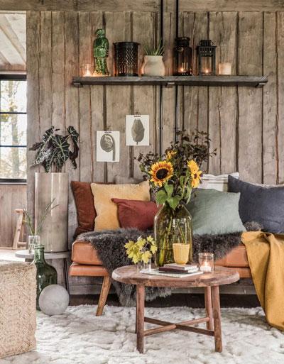 Как украсить дом осенью своими руками