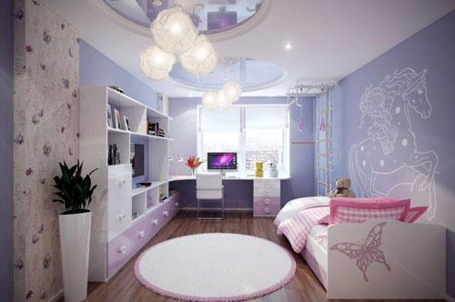 стили дизайна комнаты девочки подростка