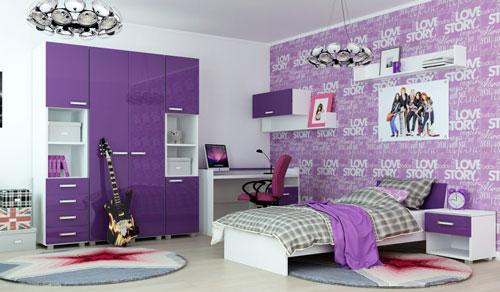 стили дизайна комнаты девочки подростка 2