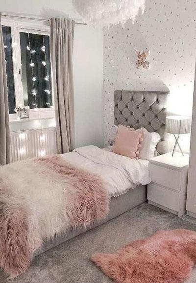 узкие комнаты для подростков девочек