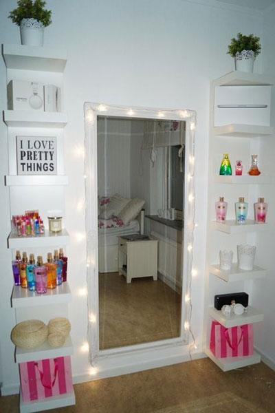 комната подростка девочки минимализм