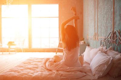 Как вставать рано осенью бодрой