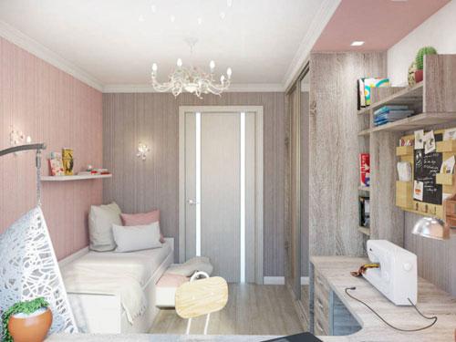 эстетичные комнаты для подростка девочки