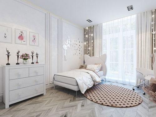 розовые комнаты для девочек подростков