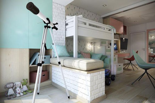 комната для мальчика и девочки вместе