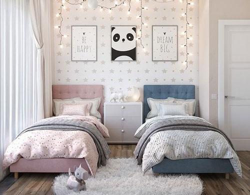 как разделить комнату для мальчика и девочки 2