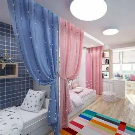 комната для двоих мальчик девочка 5