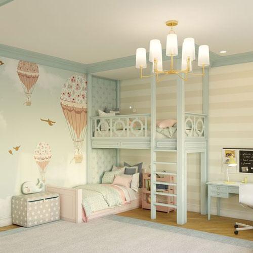 комната для двоих мальчик девочка 4