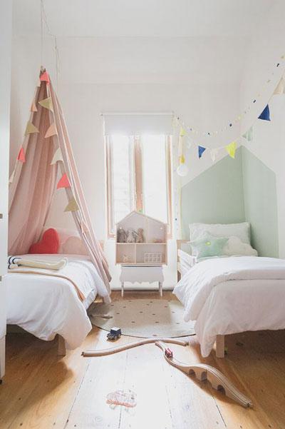 комнаты для детей мальчика и девочки 4