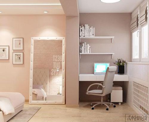 дизайн детской комнаты для девочки подростка