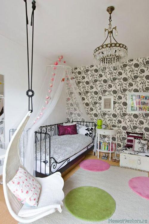 дизайн маленькой комнаты для девочки подростка