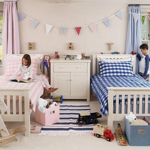 дизайн детской комнаты +для мальчика и девочки 6