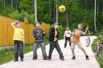 Летние игры на свежем воздухе для детей 7 лет