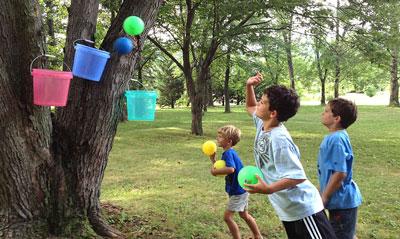 Летние игры для детей на свежем воздухе