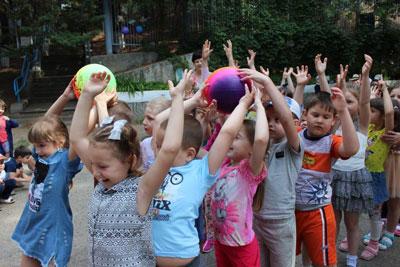 Летние игры для детей на свежем воздухе в детском саду