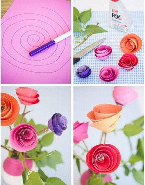 летние поделки из бумаги для детей в сад