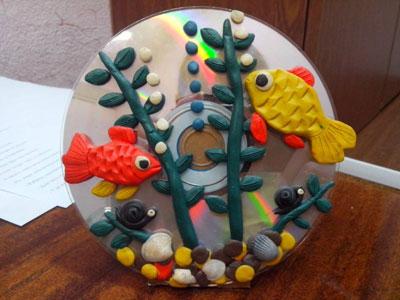 Летние поделки из пластилина для детей в садик 3
