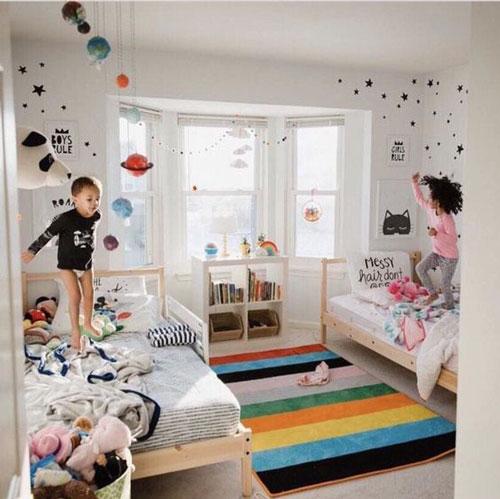 дизайн детской комнаты +для мальчика и девочки 5