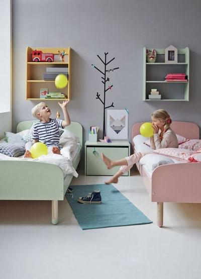 комнаты для детей мальчика и девочки 5