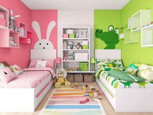 обои для комнаты мальчика и девочки